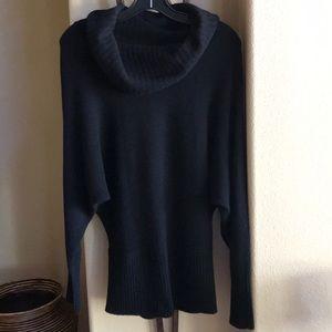 Saks Fifth Avenue Black Cashmere Sweater